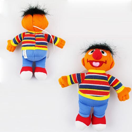 New Arrival! Ernie 5.2'' Plush Doll Sesame Street Stuffed Toy FREE SHIPPING(China (Mainland))