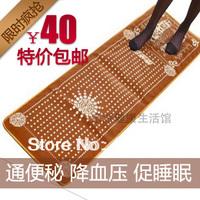 Blanket foot massage pad tourmaline cobblestone mat foot massage carpet device Free shipping Best selling