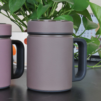 Purple sand office cup i24p i25p male women's purple liner filter cup gift cup