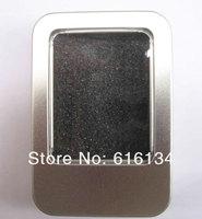 8.5x5.5x1.7cm open window Metal Storage Boxes with sponge, Favors Tins, Gift collect Boxes, 50pcs/lot