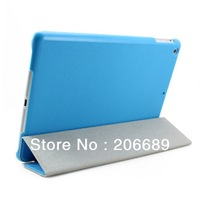 Pu Leather  Case Smart Cover Stand For New Apple iPad 5 iPad Air Case Tablet Case 6Colors,100pcs Free Shipping