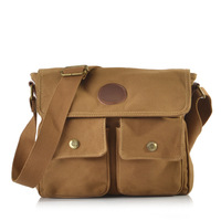 2013 100% cotton canvas bag man bag vintage casual male bag messenger small bag