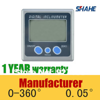 Digital inclinometer/protactor 360 degree mini ruler angle ruler digital ruler