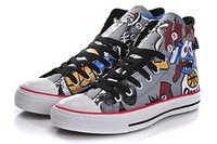 2013 New Style! Free Shipping! Fashion  Gorillaz  Skate shoes for Men, High and short,  Hip pop, Street Dancing, DJ shoes