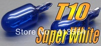 T10 W5W 5000K Super White Headlamp Globe Front Parking Headlight Light Bulb Free Shipping!Excellent Quality!One Year Warranty!