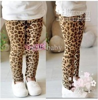 Wholesale --2012 Children's Girl Leopard Grain Girls Leggings Kids Bottoms Baby Spring Clothes China
