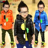 Bakham children's clothing baby thickening winter cotton-padded jacket cotton-padded jacket 2013 xy29 child male child cotton