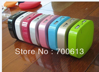 Fashion design!Free shipping 6000mAh power bank for mobile phone