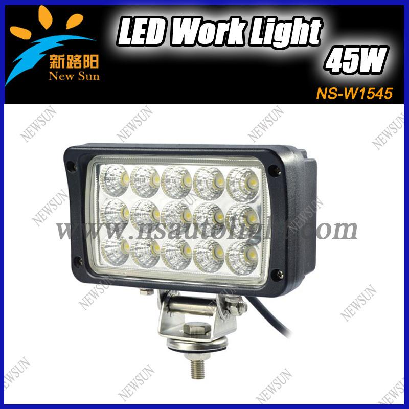 45W USA C ree LED Offroad Light Bar LED Worklight Auto LED Driving Light for Truck 4WD SUV ATV LED Fog Lamp 4X4(China (Mainland))