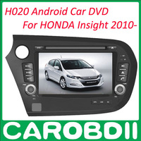 2 din Android Car DVD For HONDA Insight 2010- With TV/3G/GPS/wifi/radio Car DVD GPS Insight For HONDA Android DVD Car Player