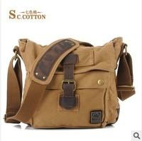 Seven color cotton, spot, single shoulder bag, men's single shoulder bag, single shoulder canvas bags, fashion, leisure packages
