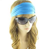 (10pieces/lot)Blue / black /white  women's  hair accessory  westem style  headwraps