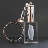 High-quality Crystal Aotomotive keychain clear car key chain gift for friend  key ring BJXD