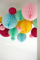 Free shipping 100pcs 15cm  Honeycomb Lantern Wedding / Baby Shower / Birthday Party / Nursery / Festival decoration