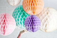 Free shipping 100pcs 10cm  Honeycomb Lantern Wedding / Baby Shower / Birthday Party / Nursery / Festival decoration