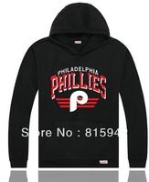 New Arrive Men's Brands Fashion Streetwear Hip Hop Hoodies baseball Philadelphia Phillies Hooded Sweatshirts S-XXXL,Top quality