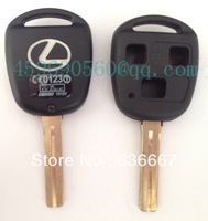 TOY48P-3B TOYOTA KEY SHELL, 3 BUTTONS HOLE,  WITH LEXUS LOGO