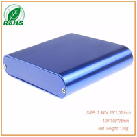 (XDM05-36)Colorful electrical extruded aluminum project box for extruded aluminum enclosure