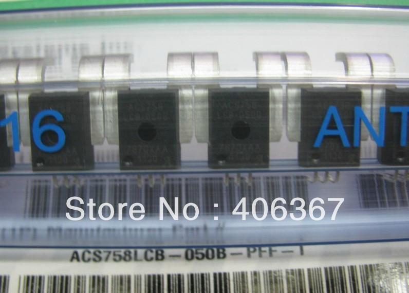 50PCS ACS758LCB-050B-PFF-T ACS758LCB-050B CURRENT SENSOR IC , new and original(China (Mainland))