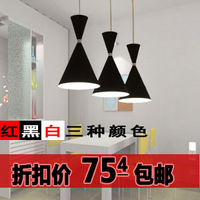 Aluminum pendant lamp wine glass pendant light restaurant lamp
