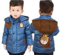 free shipping size 90-120 boy down 90% goose down jacket winter coat boy down warm filled sports jacket kid's winter jacket