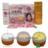 Chinese medicine Chun Yan (3+1) Beauty Crystal Mask+ Cleanser day cream night cream whitening cream