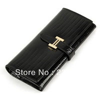 fashion 2013 women's cowhide long wallet design wallet multi card holder wallet