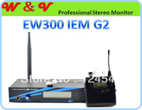 Free Shipping 300IEM G2 UHF Professional Stereo Monitor With in earphone Stereo In-Ear  Headphone monitor sem fio