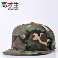 Hiphop hip-hop hiphop Camouflage baseball cap hat male summer outdoor cap bboy hat flat along the cap female