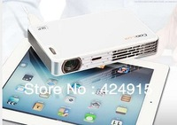 Coolux X3+ mini led dlp active shutter 3D projector full hd multimedia projektor projetor beamer with VGA,HDMI,USB,TF card