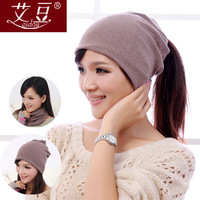 2014 Active Unisex Cotton Limited Solid Adult Winter Hats for Fashion Korean Skullies & Beanies /fashion Scarf /headwear for