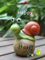 2014 New arrival diaphragn decoration flower pot art home ceramic little snail