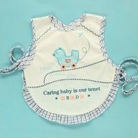 Baby gowns, apron infant cotton 100% tofts waterproof anti 100% eat bib cotton bib