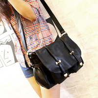 Hot-selling messenger bag vintage casual all-match double bag tassel belt one shoulder cross-body bags women handbag