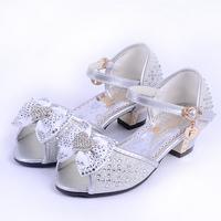 Girls child sandals 2013 summer fashion open toe shoe girls big girls sandals heart rhinestone child sandals children shoes