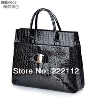 Stone Serpentine Pattern Crocodile Pattern Women Designers Brand Leather Handbags Vintage Shoulder Tote Bags 2 Colors 4 Styles