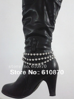 New Sexy Rhinestone Shinny Metal Chain Anklet For Women Shoe Heel Bracelet Jewelry