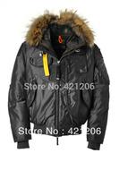 Classic Fashion Men Gobi Jacket Warm Winter Down Coat With Fur Outdoor Jacket SZ S-XL