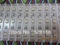 500pcs 5050 3 LED Modules Yellow/Green/Red/Blue/White/Warm White Waterproof IP65 DC12V Free Ship