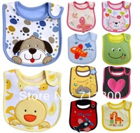 Free Shipping,1 pcs baby bibs cotton waterproof infant saliva towels bib