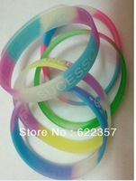 The new soft rubber silicone bracelet luminous hand ring Wholesale