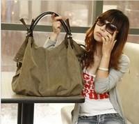 2014 Newest Autumn and winter women's canvas bag casual women handbag women shoulder bag women messenger bag free shipping