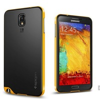 hot new SGP SPIGEN Bumblebee Neo Hybrid Hard Case For Samsung Galaxy Note 3 III N9000 Phone Cover Back TPU Plastic