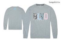 Free Shipping Cheap Brand BLVD Long sleeve supply men's tshirts hip hop men round neck tshirts high quality 100% cotton