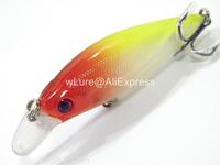 Fishing Lure Minnow Crankbait Hard Bait Fresh Water Shallow Water Bass Walleye Crappie Minnow Fishing Tackle M502X34