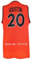 Free Shipping,#20 Allan Houston 2013 Rev 30 Top quality Basketball jersey,Embroidery logos,Size S--3XL,Accept Mix Order