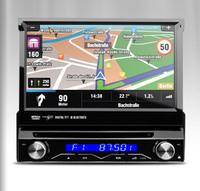 "7"" Digital Touch Screen 1 Din Car DVD Single Din Car Radio One Din Car GPS Detachable Panel Radio Bluetooth SD USB"