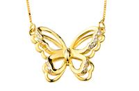 925 Sterling silver necklaces & pendants1 piece dropship women's necklace flower GNX0232