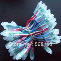 12mm UCS1903 WS2811 similar to WS2801 pixel module IP68 waterproof DC5V full color 50pcs a string ws2801 led pixel module
