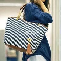 2013 Fashion free shipping New Women's Lady Street Snap Candid Tote Shoulder Bag Canvas Handbag